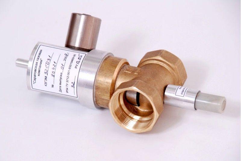 клапан запорный газовый